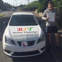 Ellis Nuttall passing in Halifax