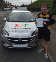 Josh Robertshaw passing in Halifax
