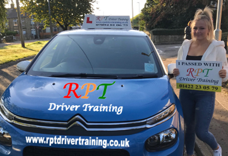 RPT Driver Training - Driving Lessons Halifax - Jess Parker