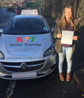 Chloe Dixon Passed in Halifax