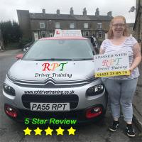 RPT-Driver-Training-Driving-Lessons-Halifax-Sasha-penny-ward-Review