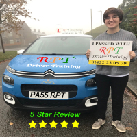 Driver-Training-Driving-Lessons-Halifax-Freya-Haslam-Review